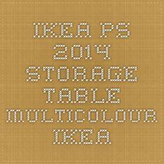 IKEA PS 2014 Storage table - multicolour - IKEA