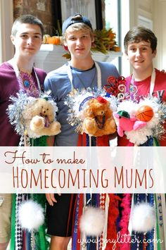 How To Make A Homecoming Mum! A Texas Tradition! http://mylitter.com/craft/how-to-make-a-homecoming-mum-a-texas-tradition/