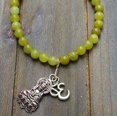 Een persoonlijke favoriet uit mijn Etsy shop https://www.etsy.com/nl/listing/398055739/peridot-budha-ohm-bracelet