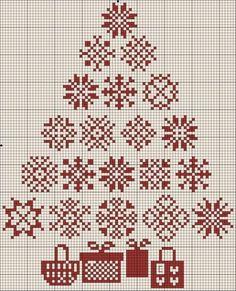 Snowflake tree and prezzies.