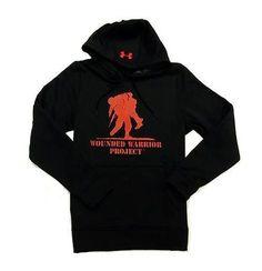 wholesale dealer a9dfc 41425 Under Armour 1288018   Men s Hoodie WWP Fleece   Black   Medium