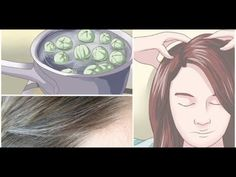 Leave This on Your Hair For 5 Minutes and Say Goodby. Published on Nov 2016 Goodbye White Hair! Leave This on Your Hair For 5 Minutes and Say Goodbye to White Hair Forever! Old Mother, Natural Home Remedies, Grey Hair, Fall Hair, Hair Hacks, Health And Beauty, Healthy Beauty, Healthy Hair, White Hair