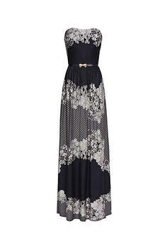 MANGO - Maxi-vestido estampado floral