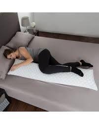 Memory Foam Body Pillow Side Sleepers Aching Legs RLS Zippered Bamboo Cover for sale online Foam Pillows, Bed Pillows, Windsor Homes, Aching Legs, Knee Pillow, Stay Cool, Foam Mattress, Memory Foam, Charcoal
