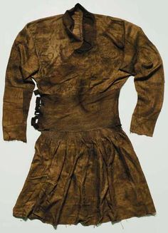 The Red Kaganate - Clothing: Turco-Mongol-Persian Crossover Coat, Silk Lampas Weave, Eastern Iran or Central Asia, late 13th or first half 14th century.  51½in. (131cm.) high. This is one of the most complete Mongol robes to have been discovered to date.