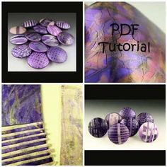 Polymer Clay Tutorial PDF Crackling Lentil Beads With by Naftali, $20.00