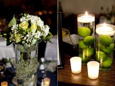 Limes in a Jar- cute (and inexpensive) decoration