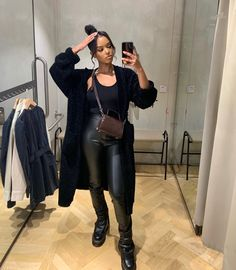 Winter Fashion Outfits, Fall Outfits, Autumn Fashion, Black Girl Fashion, Look Fashion, Korean Fashion, Fashion Women, Fashion Tips, Fashion Trends