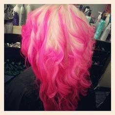 Pink and Blonde <3