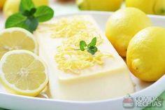 Receita de Flan de limão com chocolate branco - Comida e Receitas