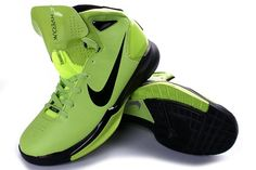 Nike Hyperdunk 2010 Mens Basketball Shoes - Green/Black For $67.90 Go To:  http://www.cheapkobeshoesmall.com