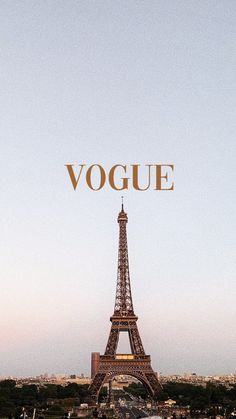 Eiffel Tower x Vogue - Wallpaper, Collage Mural, Collage Foto, Bedroom Wall Collage, Photo Wall Collage, Picture Collage Board, Quote Collage, Vintage Phone Wallpaper, Locked Wallpaper, Paris Wallpaper Iphone
