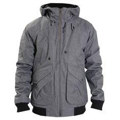 VOLCOM Cavelier 2 Jacket heather grey blouson à capuche 179,00 €  #volcom #jacket #blouson #vester #manteau #parka #skate #skateboard #skateboarding #streetshop #skateshop @PLAY Skateshop