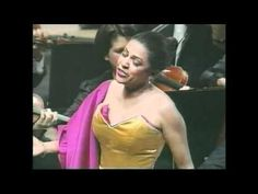 Kathleen Battle and the Montréal Symphony Orchestra with conductor Charles Dutoit. Music Den, Art Music, Music Artists, Kathleen Battle, Sing To The Lord, Opera Singers, Beautiful Voice, Greatest Songs, African American Women