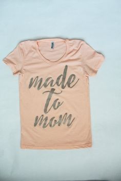 made to mom by sweetandsparklyts on Etsy $20