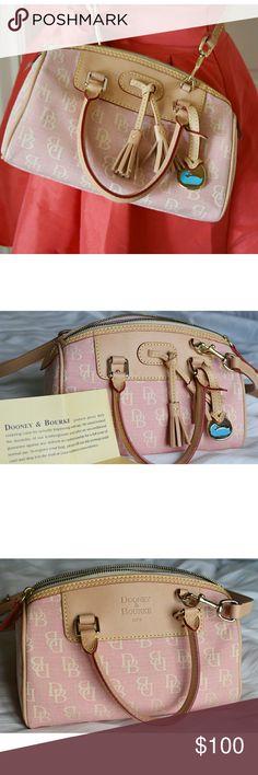 I just added this listing on Poshmark: Authentic Dooney & Bourke Pink Purse. #shopmycloset #poshmark #fashion #shopping #style #forsale #Dooney & Bourke #Handbags