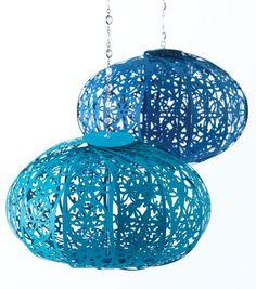 Intricate Paper Lanterns