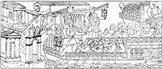 59 Het vertrek van de vloot uit Ancona. Begin van de tweede Dacische oorlog (lente van het jaar 105).