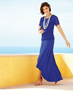 MSP says: Go monochromatic with bold basics. You'll see this look in this week's shopping guides!!!!  #chicos
