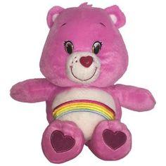 CARE BEARS Plüsch Figur #HURRABÄRCHI pink | 28 cm  #carebears #glücksbärchi #softplüsch