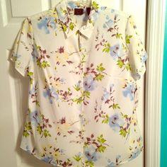 NWT Laura Scott Button Down Shirt Brand new with tags! Laura Scott Tops Button Down Shirts