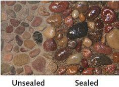 Saltillo Mexican Floor Tile Sealer. Glaze N Seal Wet Look 2000 5-Gal Close-Up