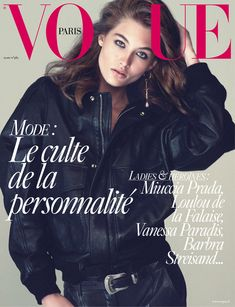 Top model Grace Elizabeth teams up with photographer David Sims and Emmanuelle Alt - the editor-in-chief of Vogue Paris - in ''Suits'', the cover story of Vogue Paris March Vanessa Paradis, Vogue Paris, Vogue Uk, David Sims, Grace Elizabeth, Vogue Magazine Covers, Vogue Covers, Miuccia Prada, Christy Turlington