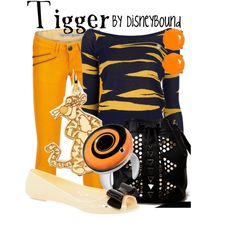 """""""Tigger"""" by lalakay on Polyvore"""