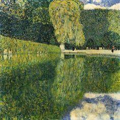 Gustav Klimt「Park Of Schönbrunn」(1916)