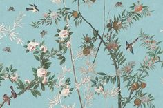 Chinoiserie Behang IKSEL Decorative Arts Luxury By Nature Chinees Behang Exotische Vogels 3