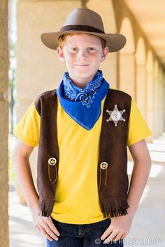 7 year old creates cowgirl costume kids craft pinterest transform a normal t shirt into a cowboy costume to cowboy costumesdiy solutioingenieria Choice Image