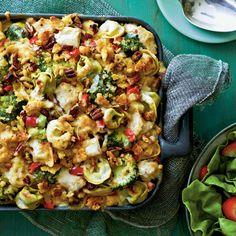 15 Oven Lovin' Baked Pasta Recipes: Pasta-Chicken-Broccoli Bake