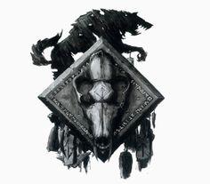 Warhammer 40k Space Wolf sigel