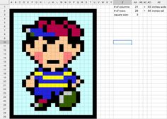 How to make video game quilts from scratch.