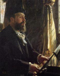 Portrait of Jean Baptiste Faure by Anders Zorn, 1891