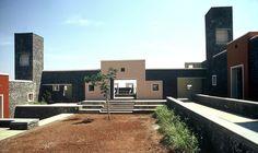 Rural Campus for TISS, Tuljapur, India - RMA  Rahul Mehrota Associates #stone