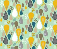 rain or shine fabric by endemic on Spoonflower - custom fabric