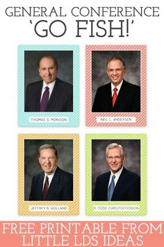 General Conference Apostle Cards