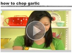 How to Chop Garlic Like a Pro!