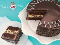 Chocolate cake cheesecake cake