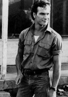 """Darrel """"Darry"""" Curtis patrick swayze The Outsiders The Outsiders Darry, The Outsiders Imagines, Houston, Matt Dillon, Dirty Dancing, Tough Guy, James Dean, Good Movies, 80s Movies"""