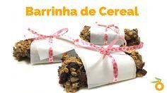 Barrinha de Cereal Saudável | Nutrição, saúde e qualidade de vida