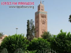 Marrakech (nombre original en bereber tamurt n Akkuc, Tierra de Dios; en árabe, مراكش Marrākuš, pronunciado coloquialmente Mrrākeš; en castellano antiguo: Marruecos, escrito en grafía francesa Marraquech) es una de las ciudades más importantes de Marruecos, cuenta 1.545.541 habitantes y está al sur del país, al pie del Atlas, a 466 msnm de altura. Posee numerosos monumentos patrimonio de la Humanidad, lo que la convierten en el principal atractivo turístico del país. www.oplatours.org