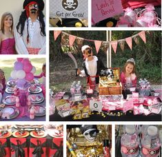 Be inspired by this gorgeous Pirates and Princesses Birthday Party. It features my Party Printables that you can easily customize & print from home! Joint Birthday Parties, Birthday Party For Teens, Pirate Birthday, Pirate Party, Princess Birthday, 3rd Birthday, Birthday Ideas, Princess Party Decorations, Birthday Party Decorations