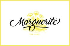 Marguerite is a smooth and fresh script font, with soft curves and natural connections. Made with love of its type designer!