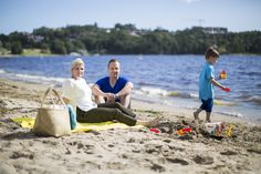 Enjoy a the beach life at Hamre familiecamping at Hamresanden in Kristiansand, Southern Norway. Kristiansand, Norway Beach, The Dunes, Sandy Beaches, Go Camping, Strand, Coast, Southern, City