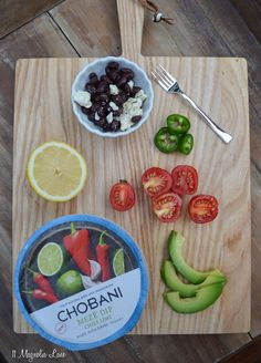 Put a dollop of #chobanimeze on your Labor Day fajitas--SO good!  #ad #laborday #grilling