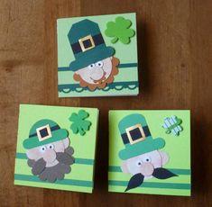 more leprechaun Punch Art, St Patrick's Day, Leprechaun, tag, scallop, circle, punches