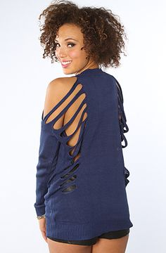The Lena Sweater in Blue