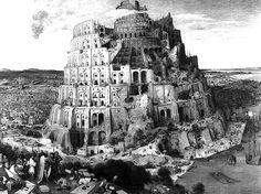 The Tower of Babel, Pieter Bruegel the Elder, 1563